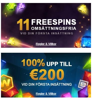 videoslots sw bonus